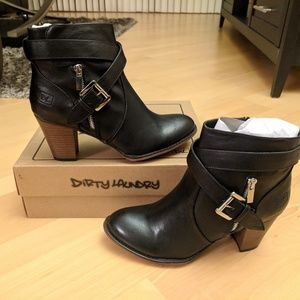NWT Dirty Laundry Booties!
